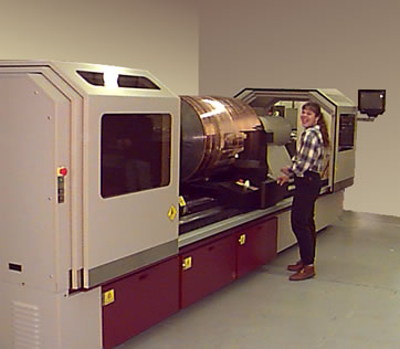 Extremely large format engraver